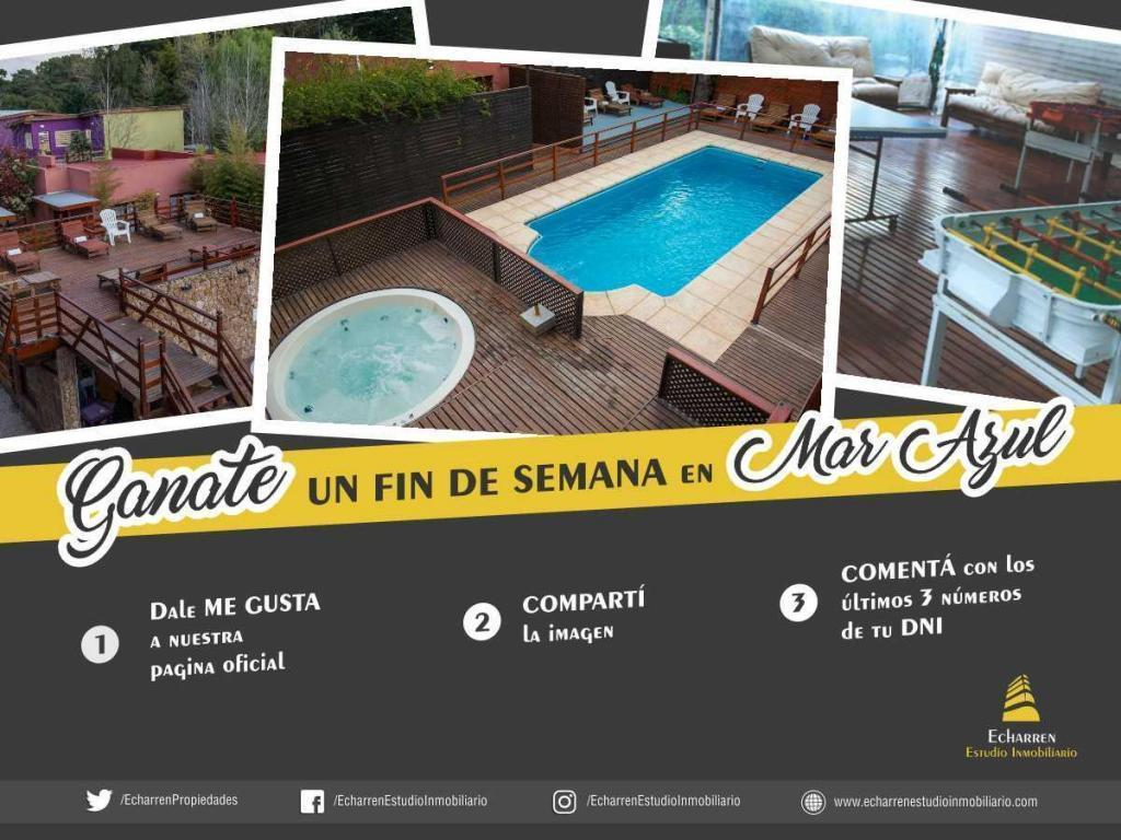 Duplex en Alq x Temp. Ambientes. Dormitorio. 500 m2. 40 m2c